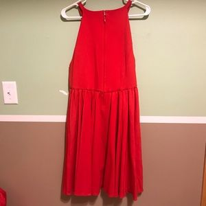 torrid Dresses - Red Halter Cocktail Skater Dress